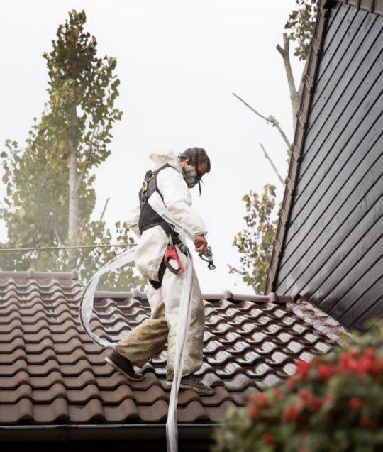 hydrofuge toiture reflechissant