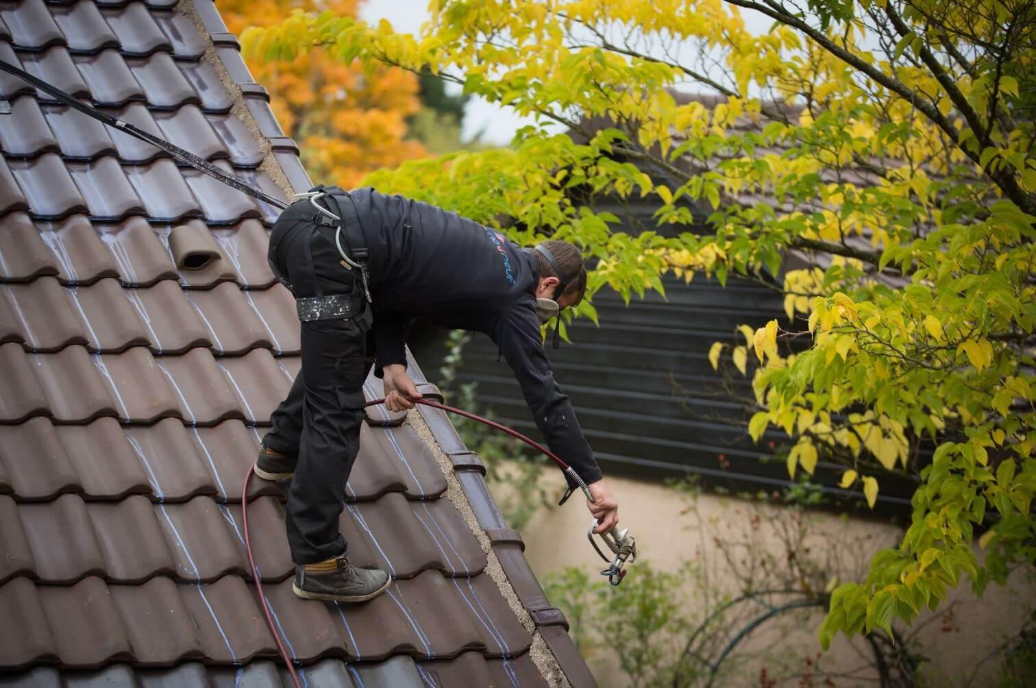 traitement hydrofuge de toiture reflechissant