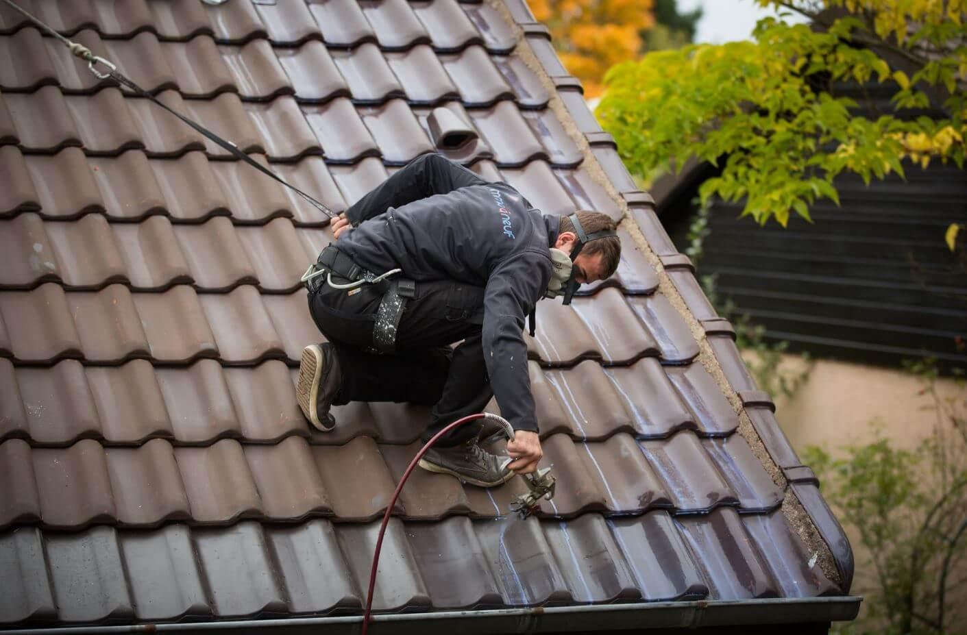 traitement hydrofuge toiture reflechissant