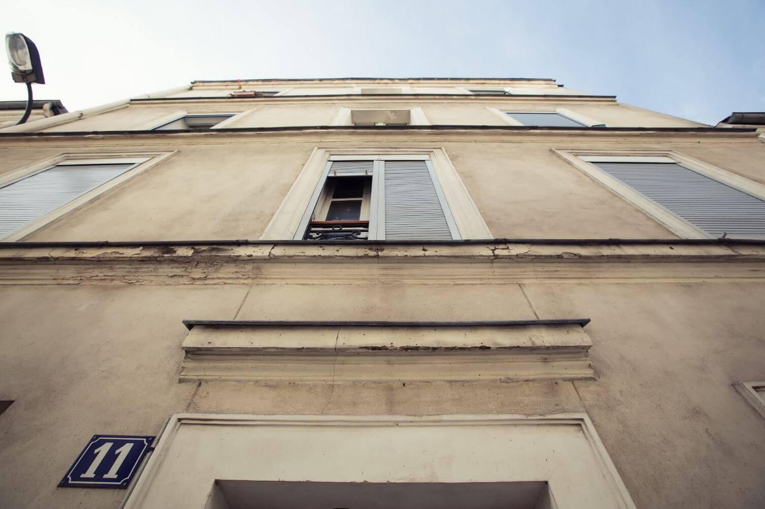 ravalement de facade avant travaux