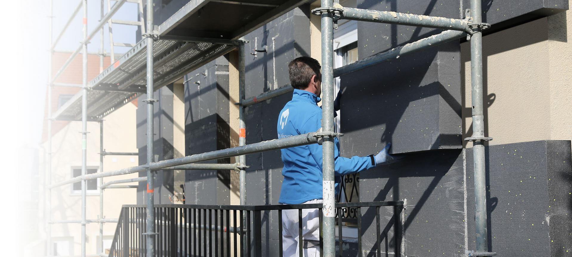 Mieux renover entreprise d 39 isolation thermique et de for Isolation des murs exterieur